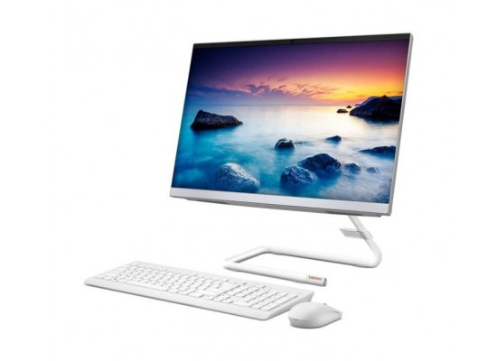 "Lenovo IdeaCentre 3 Intel Core i7 10th Gen 8GB RAM 512 SSD 23.8"" All-In-One Desktop - White"