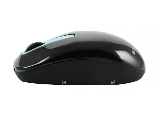 Iris 458735 Wireless Mouse Scanner Black - Side View