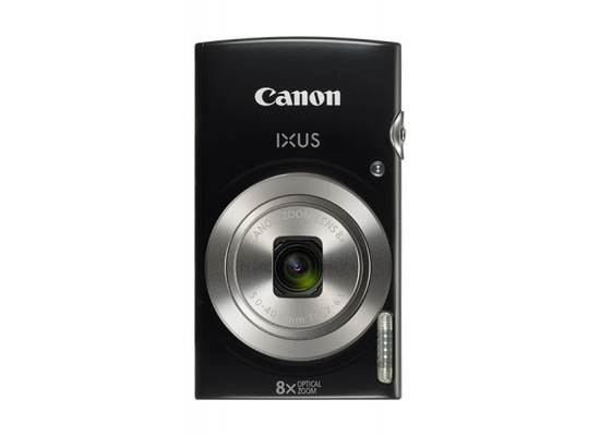 Canon IXUS 185 Digital Camera, 20MP 2.7-inch LCD Display – Black Top View