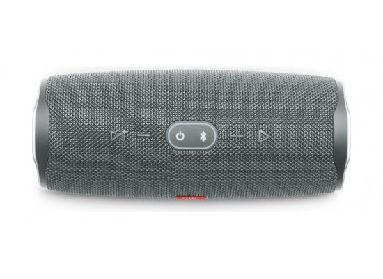 JBL Charge 4 20HR-IPX7 Portable Bluetooth Speaker - Grey