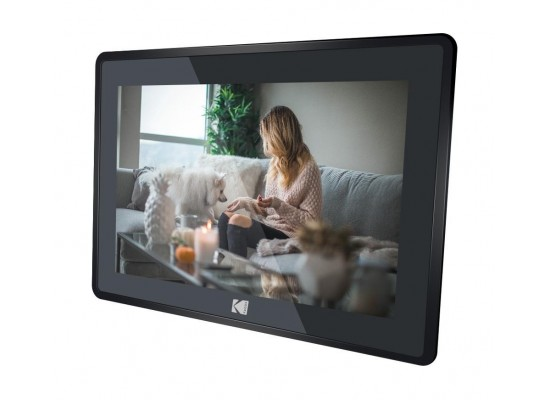 Kodak RCF-106 10-inches Touch Panel Digital Photo Frame - Black