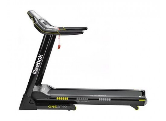 Reebok One Series Treadmill (GT40) - Black & Yellow