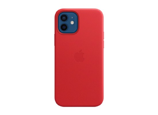 Apple iPhone 12 Pro MagSafe Leather Case Red in Kuwait   Buy Online – Xcite