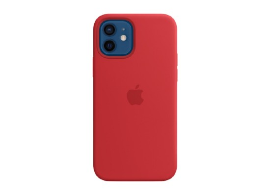 Apple iPhone 12 Pro MagSafe Red Silicone Case in Kuwait | Buy Online – Xcite