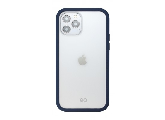 EQ Classic Silicone Case for iPhone 12/12 Pro - Navy
