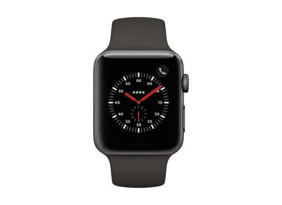 Apple Watch Series 4 44mm, Space Gray Aluminum Case with Black Sport Band 1