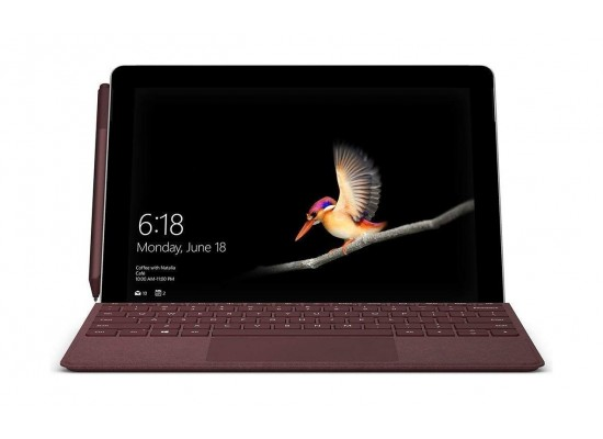 Microsoft Surface Go Pentium 4415Y 8GB RAM 128GB SSD Touchscreen Covertible Laptop - Silver 4