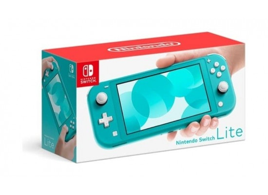 Nintendo Switch Lite Gaming Console - Turquoise + Dragon Ball FighterZ Nintendo Switch Game + Travel Case