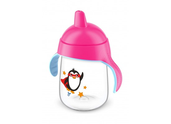 Philips Avent Premium Soft Spout Cup 340ml - Pink (Single Pack)
