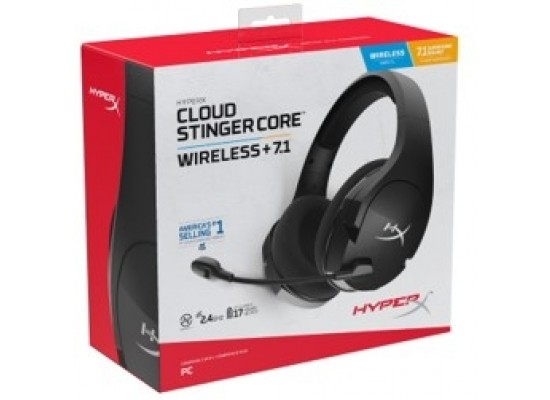 HyperX Cloud Stinger Core Wireless 7.1 Gaming Headset for PC