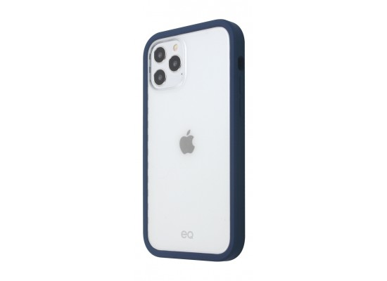 EQ Classic Silicone Case for iPhone 12 Pro Max - Navy