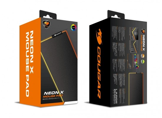 Cougar NEON X RGB Gaming Mouse Pad - XL