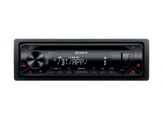 Sony CD Receiver with BLUETOOTH Technology - MEX-N4300BT