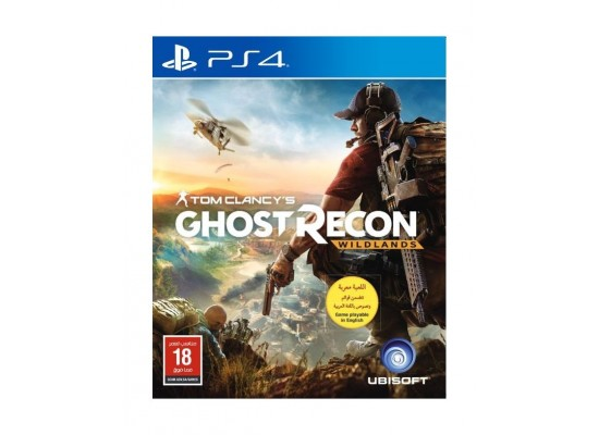 Tom Clancy's Ghost Recon: Wildlands – Playstation 4 Game front view