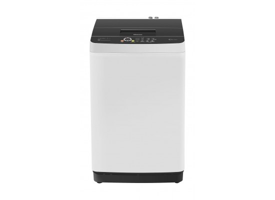 Hisense 8KG Top Load Washing Machine (WTCT802) - White