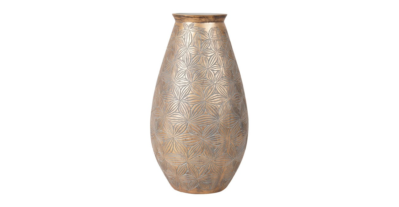 Monali Vase Gold 36Cm  data-src=