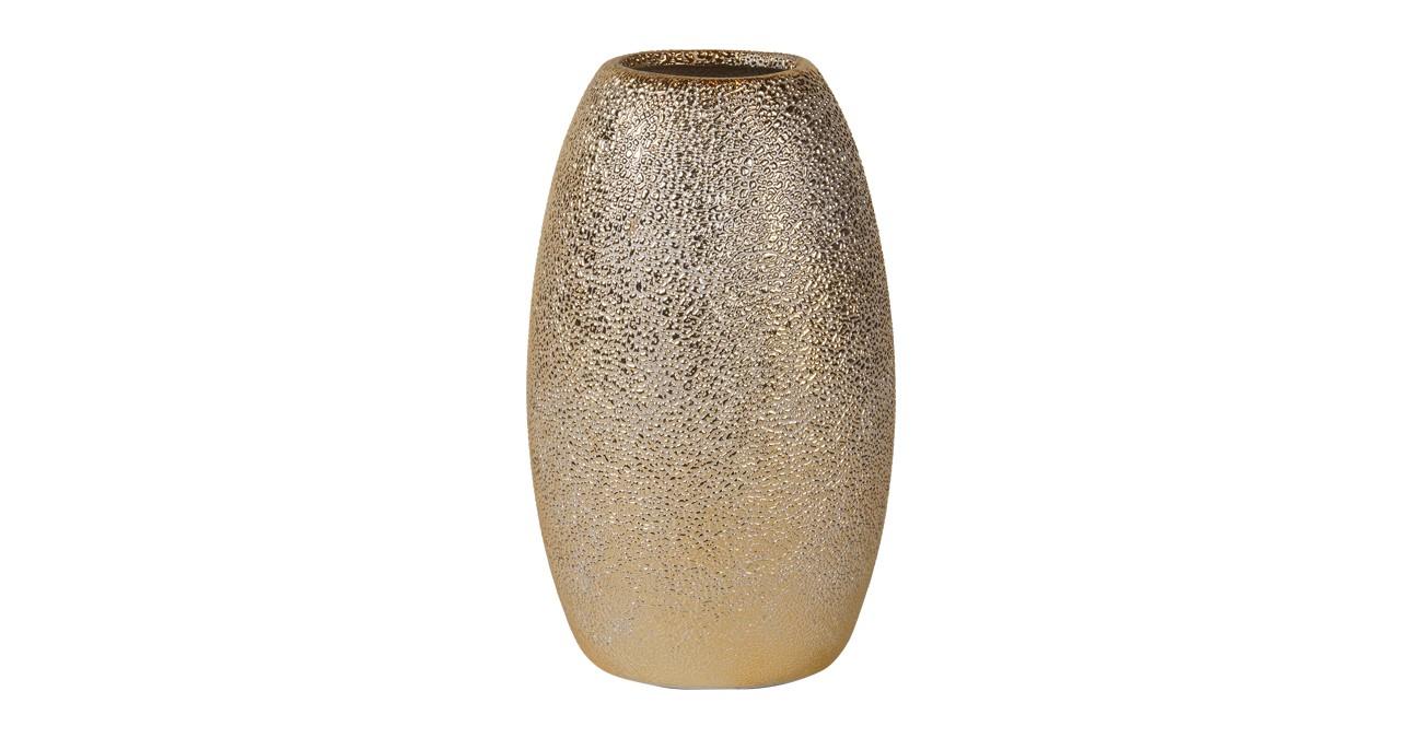 Omni Vase Gold 19 cm  data-src=