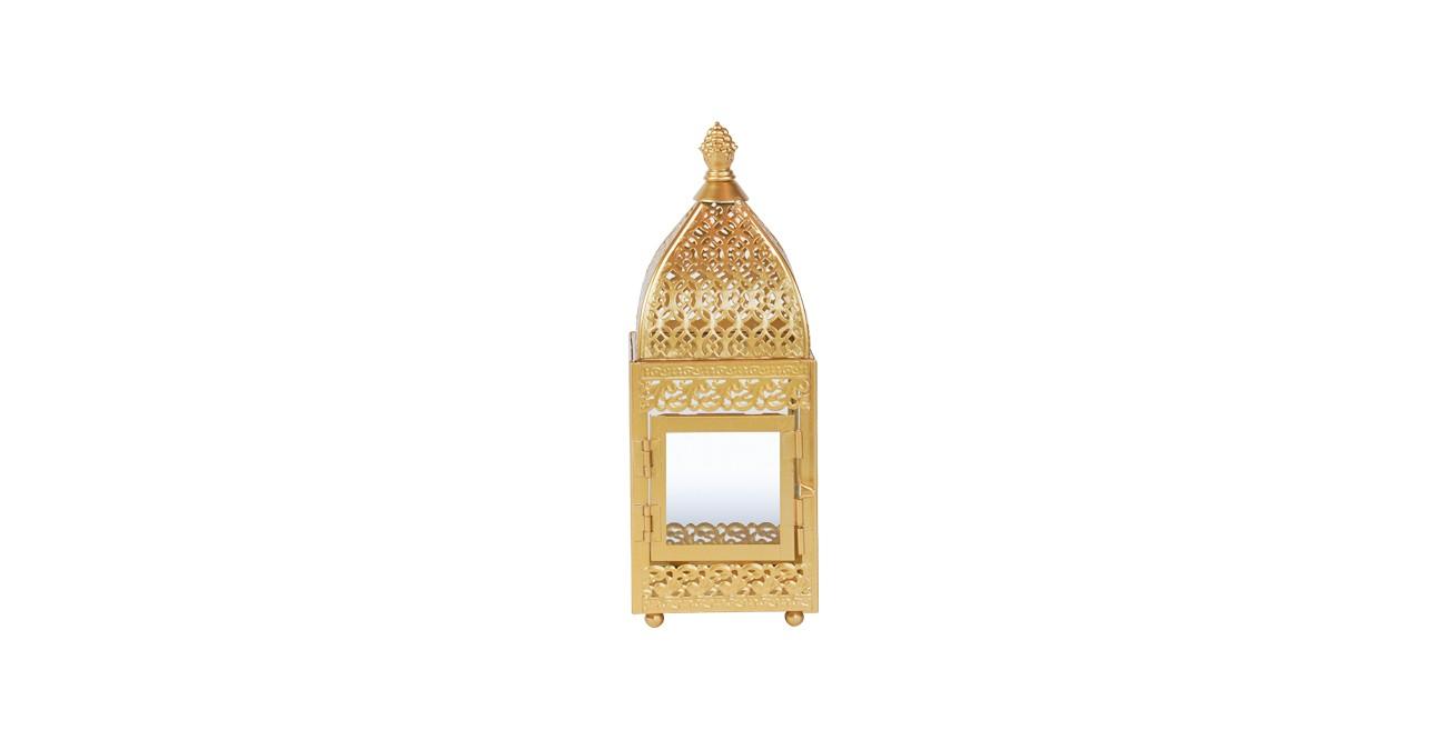 Avante Lantern Gold 25 cm