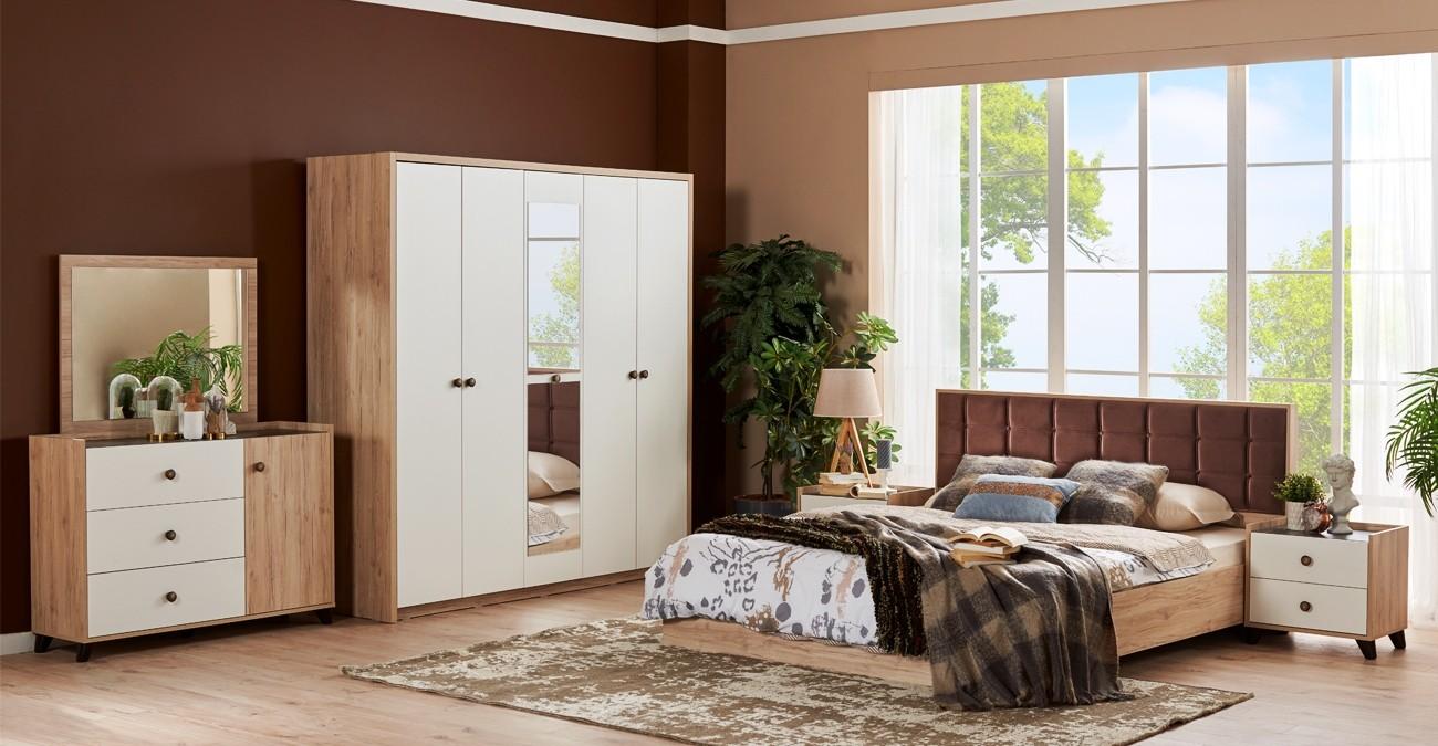 Anica Bedroom Set With Wardrobe  data-src=