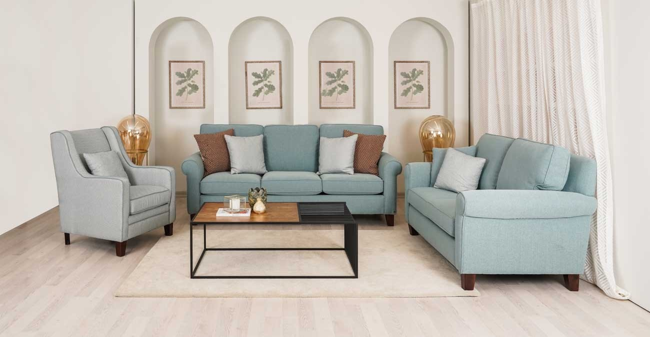 Roswell Green Sofa Set  data-src=
