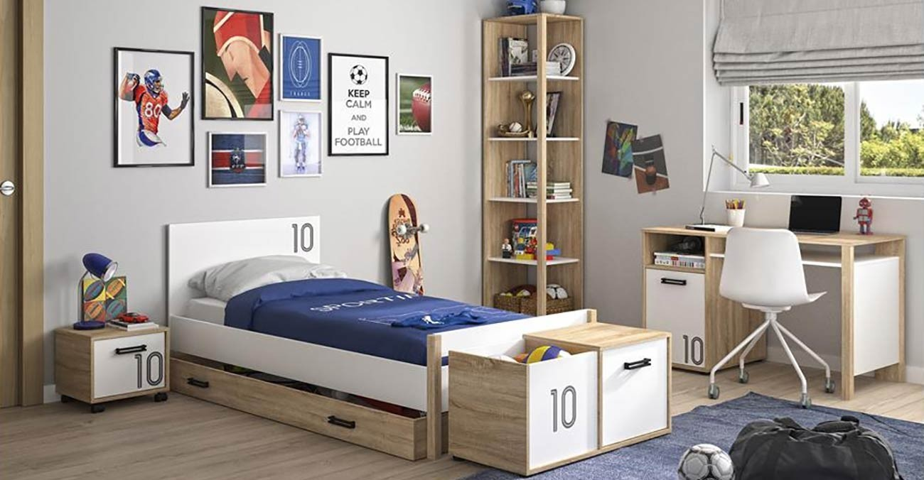 Kyllian 7-Piece Kids Bedroom Set | safathome.com | Safat ...
