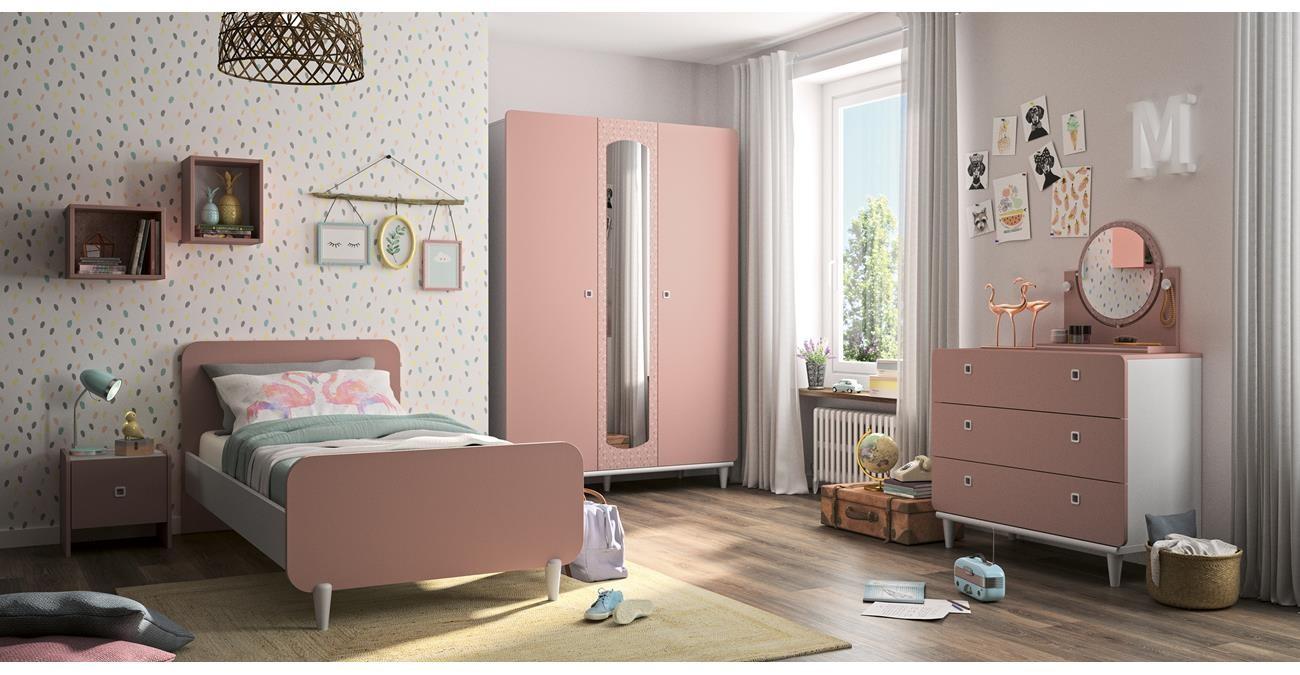 April 4-Piece Kids Bedroom Set  data-src=