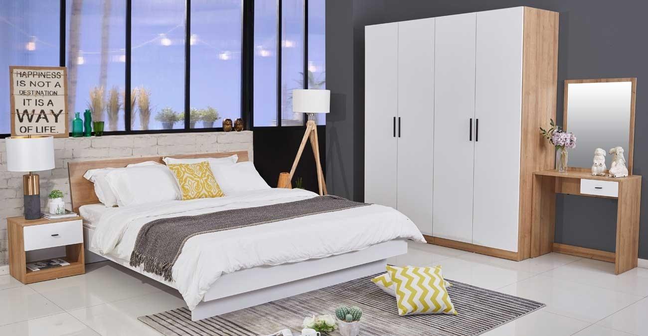 Tokyo Bedroom Set, 5 Pieces  data-src=