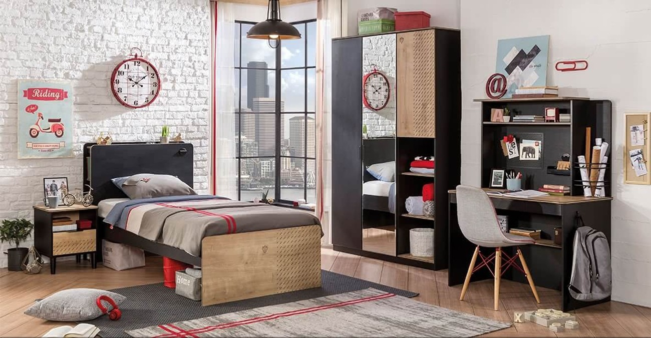 Black Kids Bedroom Set Safathome Com Safat Home Kuwait