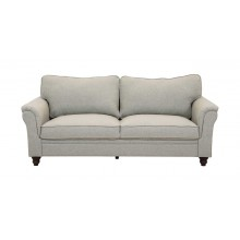 Burgas 3 Seater Sofa, Light Grey