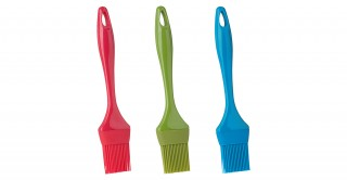 "Trudeau Silicone Pastry/BBQ Brush 9""  (Assorted Color)"