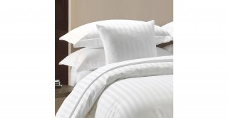 The White Collection White 220X240 Duvet Cover Set