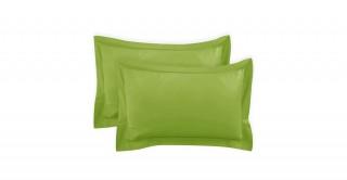 250Tc Plain Green 50X75 Pillowcase