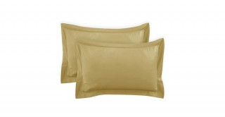 250Tc Plain Mustard 50X75 Pillowcase