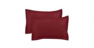 250Tc Plain Burgundy 50X75 Pillowcase