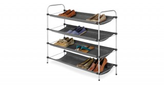4 Tier Fabric Closet Shelves