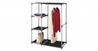 Spacemaker Garment Rack & Shelves
