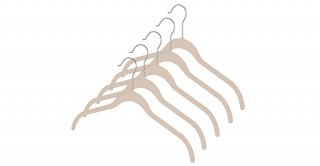 Spacemaker Dress Hangers Set Of 5
