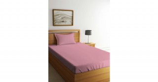 Kids Sheet Set,  Pink 120X200Cm