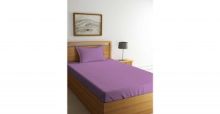 Kids Sheet Set,  Lilac Bright 120X200Cm