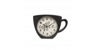 Metal Cup Wall Clock