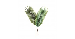 Iron Feather Wall Decor