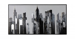 Skyscraper 125X185 Hand-Painted Canvas