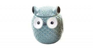 Stoneware Owl Ginger Jar (Random 1pc)