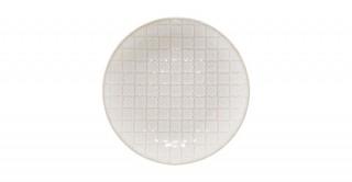 Embossed Stoneware Plate (Random 1pc)