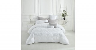 Pagoda 240X260 Embroidered Duvet Cover Set