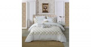 Diamond 260X270 Embroidered Comforter Set