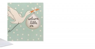 Gift Card- Welcome Little One Boy