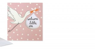 Gift Card- Welcome Little One Girl