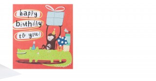 Gift Card- Happy Birthday To You