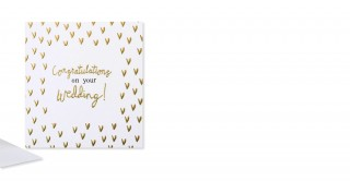 Gift Card- Congratulations On Your Wedding